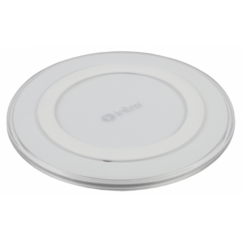 Usb wireless charger intro white